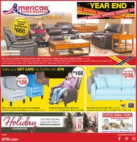 Catalogue American Furniture Warehouse - New Year's Ad 2019/2020 from 12/25/2019