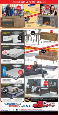 Catalogue American Furniture Warehouse from 12/25/2019