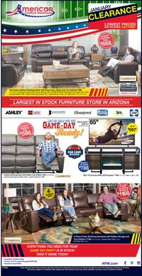 Catalogue American Furniture Warehouse from 01/27/2020