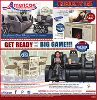 Catalogue American Furniture Warehouse from 01/30/2020