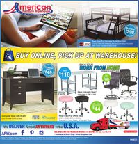 Catalogue American Furniture Warehouse from 04/09/2020