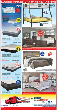 Catalogue American Furniture Warehouse from 06/22/2020