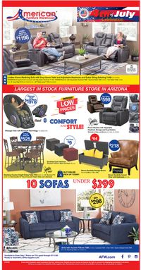 Catalogue American Furniture Warehouse from 07/06/2020