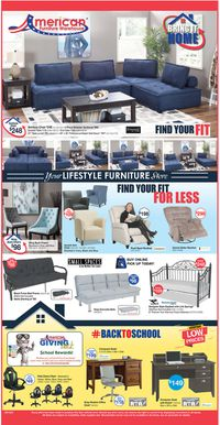 Catalogue American Furniture Warehouse from 08/18/2020