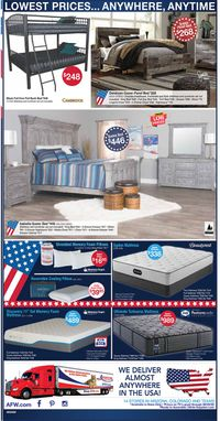Catalogue American Furniture Warehouse from 08/24/2020