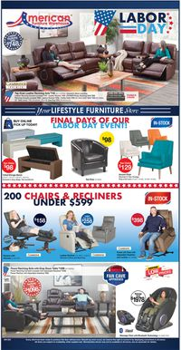Catalogue American Furniture Warehouse from 08/19/2020