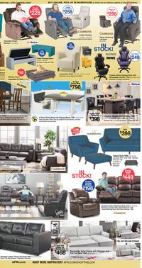 Catalogue American Furniture Warehouse from 09/21/2020