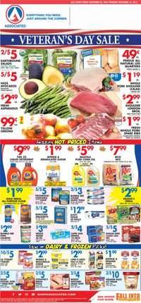 Catalogue Associated Supermarkets from 11/09/2019