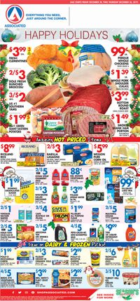 Associated Supermarkets - Holidays Ad 2019