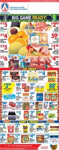 Catalogue Associated Supermarkets from 01/31/2020