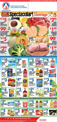Catalogue Associated Supermarkets from 08/21/2020