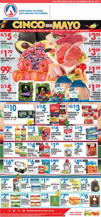 Catalogue Associated Supermarkets from 04/30/2021
