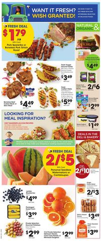 Catalogue Baker's from 04/15/2020