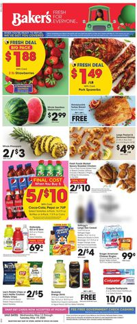 Catalogue Baker's from 05/13/2020