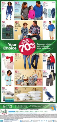 Catalogue Bealls Florida - Holiday Ad 2019 from 12/08/2019