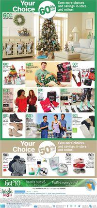Catalogue Bealls Florida - Holiday Ad 2019 from 12/20/2019