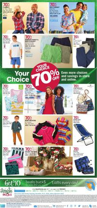 Catalogue Bealls Florida - Holiday Ad 2019 from 12/15/2019