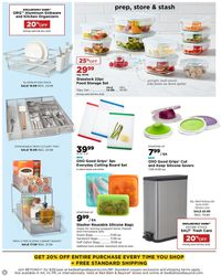 Catalogue Bed Bath and Beyond from 03/09/2020