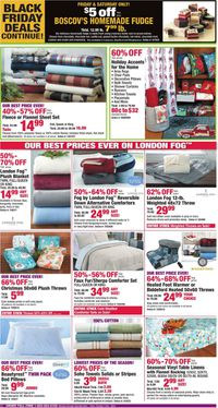 Catalogue Boscov's - Black Friday Ad 2019 from 11/29/2019