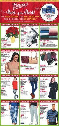 Catalogue Boscov's - Holiday Ad 2019 from 12/05/2019