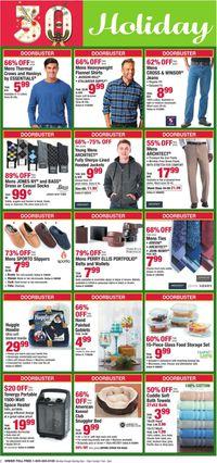Catalogue Boscov's - Holiday Ad 2019 from 12/06/2019