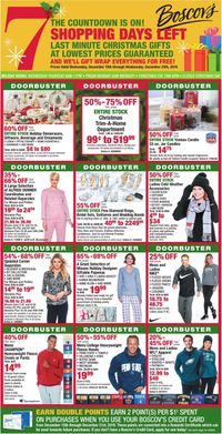 Catalogue Boscov's - Holiday Ad 2019 from 12/18/2019