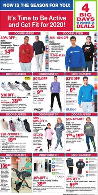 Catalogue Boscov's - After Christmas Sale 2019 from 12/26/2019