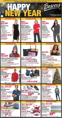 Catalogue Boscov's - New Year's Ad 2019/2020 from 12/27/2019