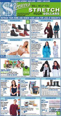Catalogue Boscov's from 01/10/2020