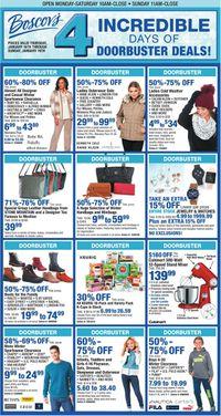 Catalogue Boscov's from 01/16/2020
