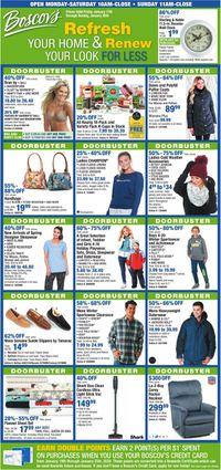 Catalogue Boscov's from 01/17/2020