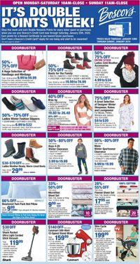 Catalogue Boscov's from 01/23/2020