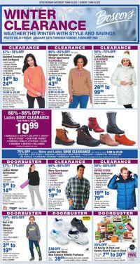 Catalogue Boscov's from 01/24/2020