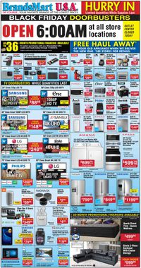 Catalogue Brandsmart USA from 11/29/2019