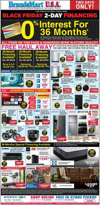 Catalogue Brandsmart USA from 11/30/2019