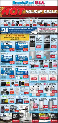 Catalogue Brandsmart USA from 12/01/2019