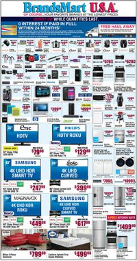 Catalogue Brandsmart USA from 01/10/2020