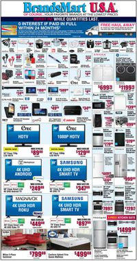 Catalogue Brandsmart USA from 01/17/2020