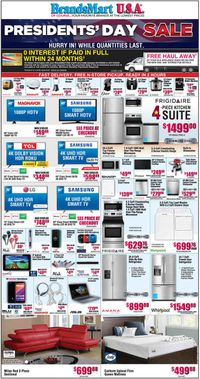 Catalogue Brandsmart USA from 02/10/2020