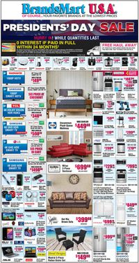 Catalogue Brandsmart USA from 02/14/2020