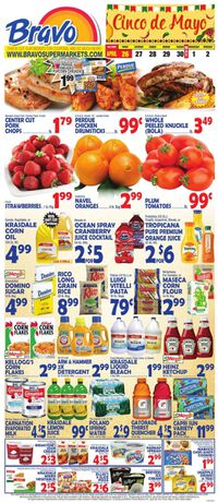 Catalogue Bravo Supermarkets from 04/26/2019