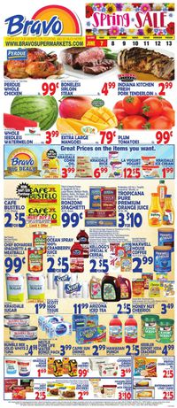 Catalogue Bravo Supermarkets from 06/07/2019