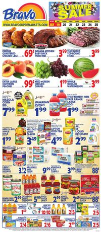 Catalogue Bravo Supermarkets from 07/19/2019