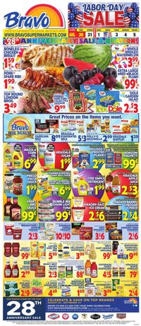 Catalogue Bravo Supermarkets from 08/30/2019