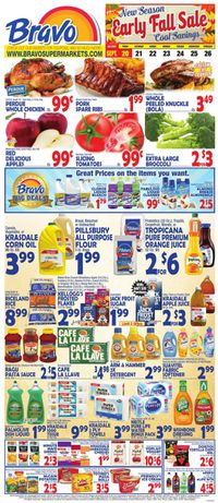 Catalogue Bravo Supermarkets from 09/20/2019