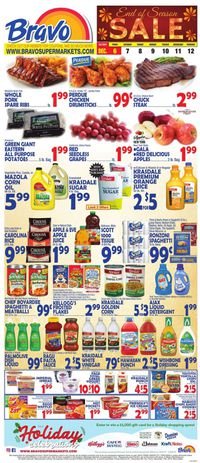Catalogue Bravo Supermarkets - Holiday Ad 2019 from 12/06/2019