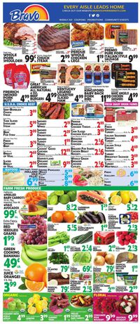 Catalogue Bravo Supermarkets from 01/24/2020