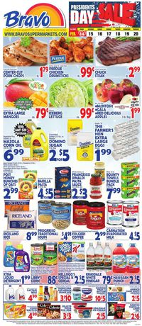 Catalogue Bravo Supermarkets from 02/14/2020