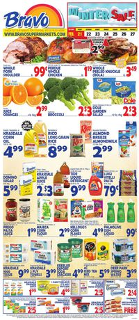 Catalogue Bravo Supermarkets from 02/21/2020