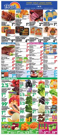 Catalogue Bravo Supermarkets from 02/28/2020